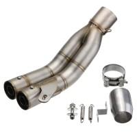 38mm-51mm Stainless Steel Motorcycle Exhaust Muffler Pipe ...