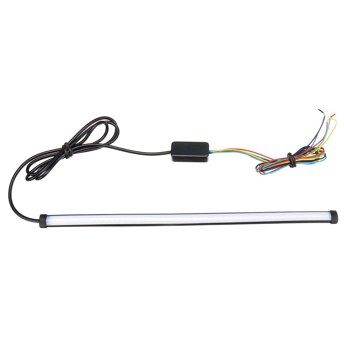 30cm 12v 108 led flowing turn signal light strip