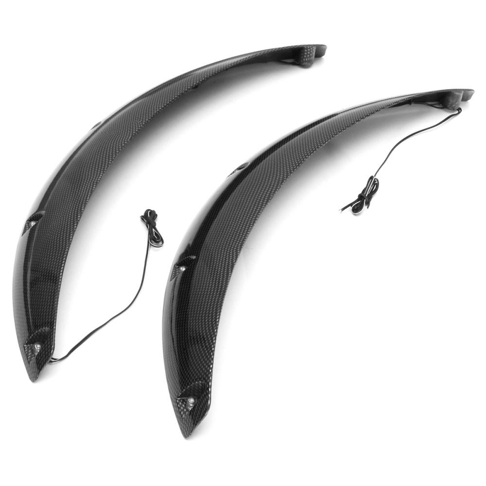 medium resolution of carbon car wheel fender flares arch wheel eyebrow prote