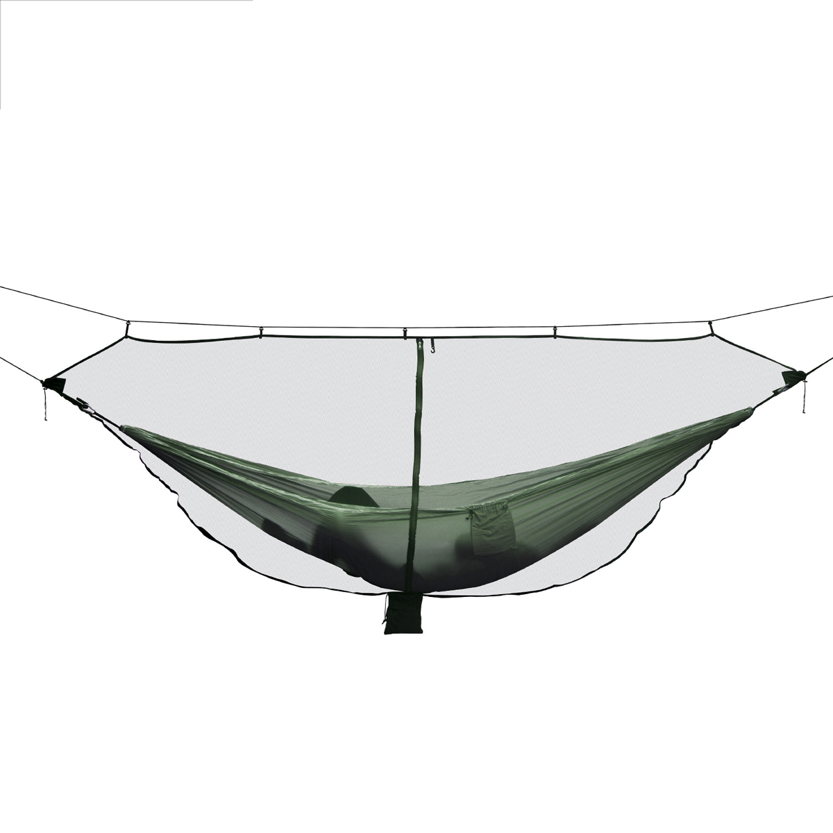 Outdoor Portable Hammock Mosquito Insect Net Camping Swing