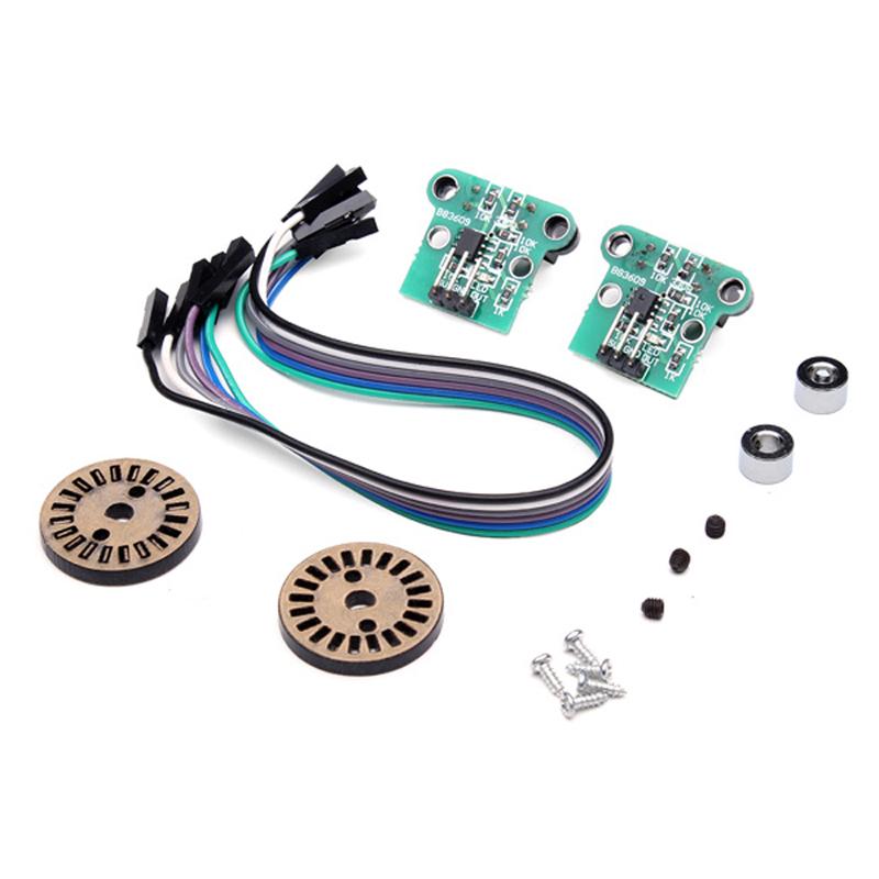 4Pcs HC-020K Double Speed Measuring Module With Speed Encoder Kit 19