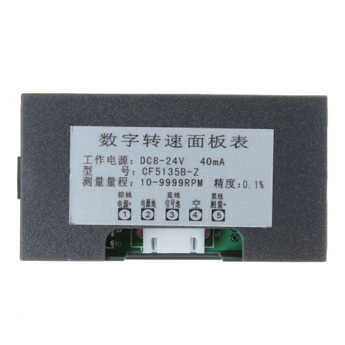 small resolution of shipping methods 4 digital led tachometer