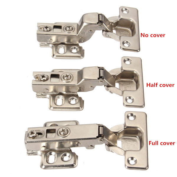 kitchen door hinges large window treatments stainless steel soft close hydraulic cabinet