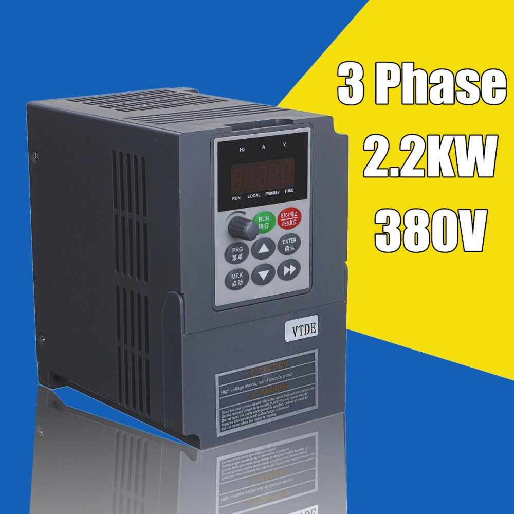 medium resolution of 2 2kw 3ph 380v vfd inverter vfd drive variable frequency drive for motor speed control