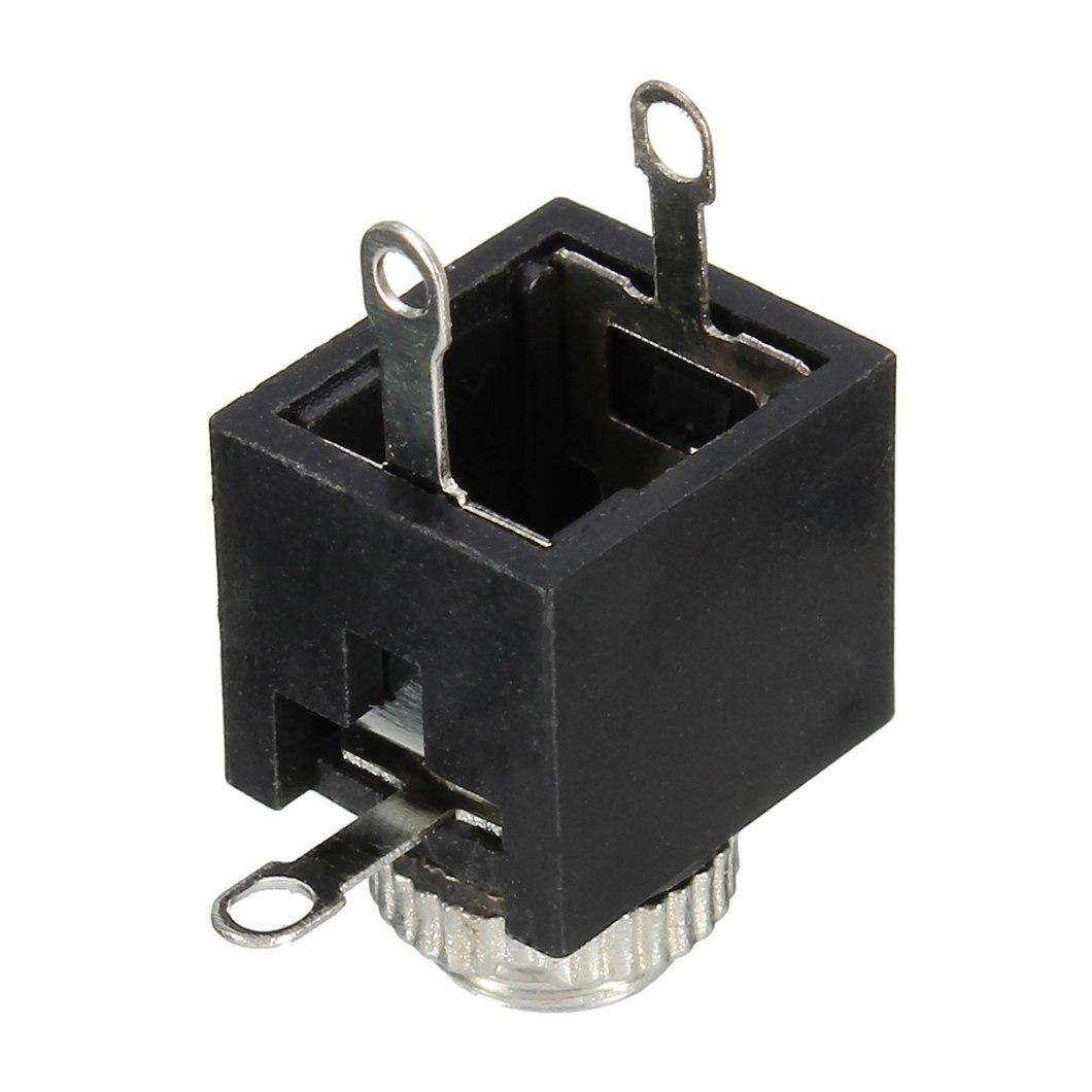 150pcs PCB Panel Mount 3.5mm Female Earphone Socket Jack Connector 22