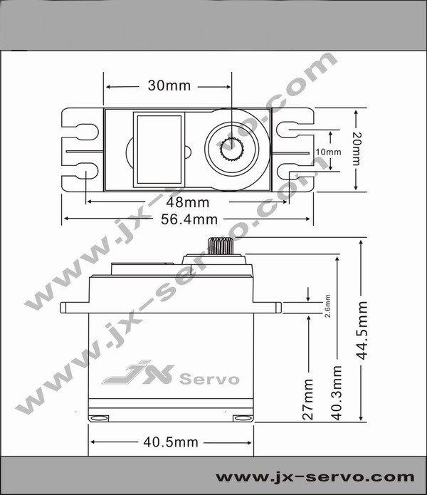 jx servo pdi-5513mg 13kg metal gear high torque digital