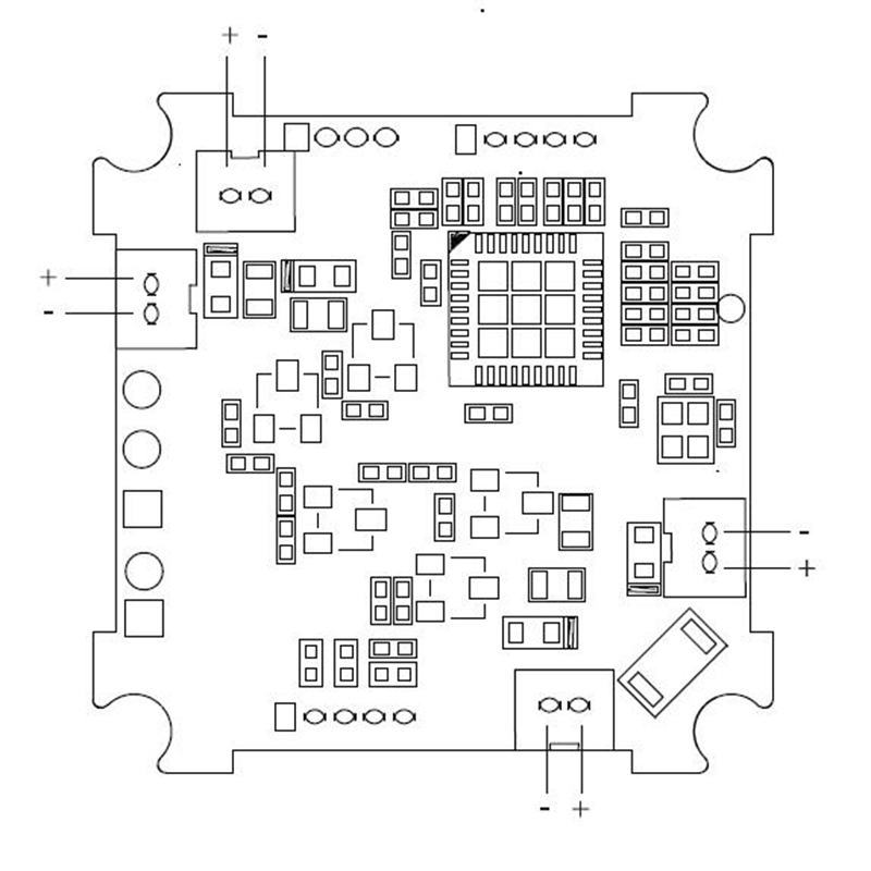 frsky xmf3e built-in f3evo flight controller & 16ch sbus