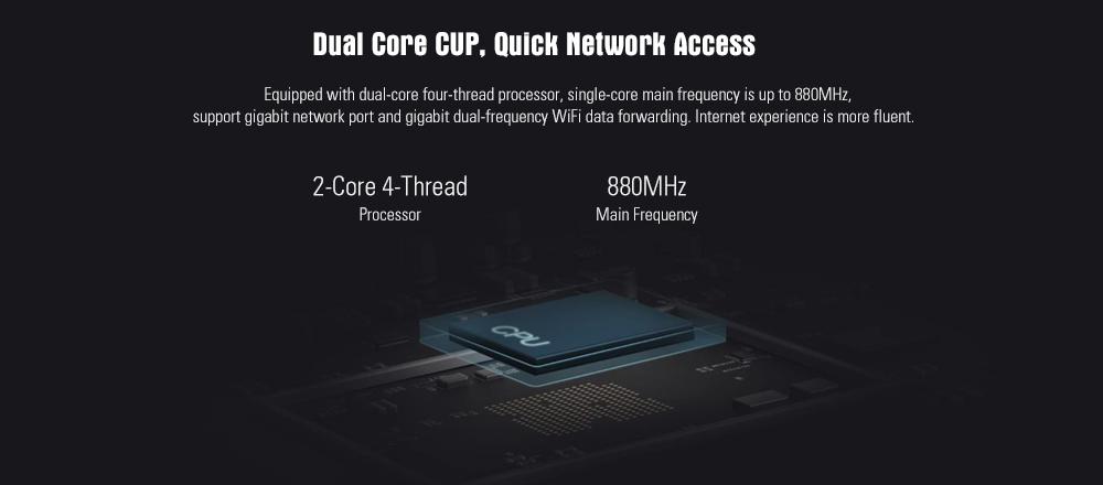 Xiaomi Mi 4A Wireless Router Gigabit Edition 2.4GHz + 5GHz WiFi High Gain 4 Antenna Support IPv6 26