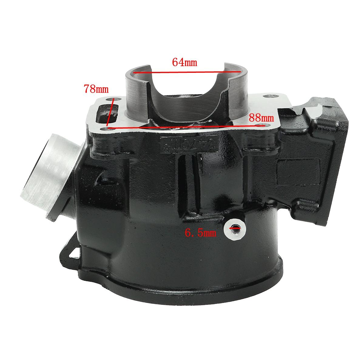 hight resolution of cylinder piston gasket kit for yamaha banshee 350 yfz350 1987 2006
