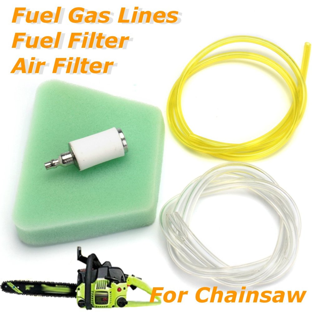 medium resolution of air filter fuel line fuel filter for poulan craftsman chainsaw