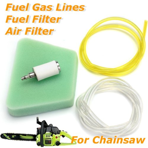 small resolution of air filter fuel line fuel filter for poulan craftsman chainsaw