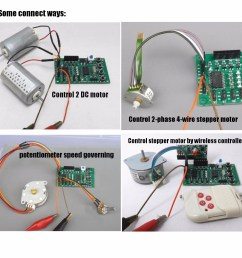 programmable 2 4 phase 4 5 wire stepper motor driver control board for robot [ 1200 x 1200 Pixel ]