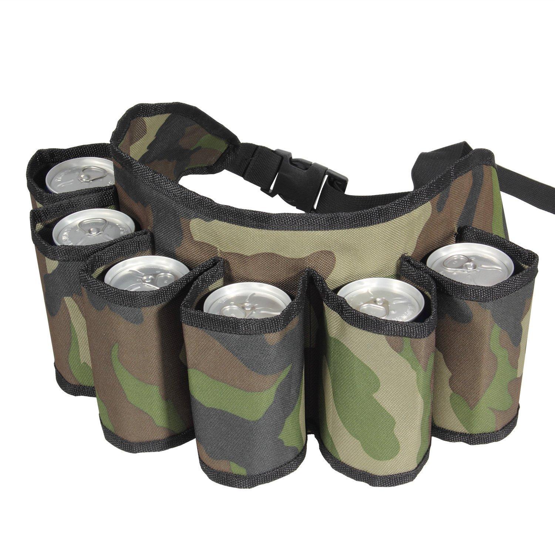 6 Pack Beer Soda Belt Drinks Beer Belt Holder Bottlr