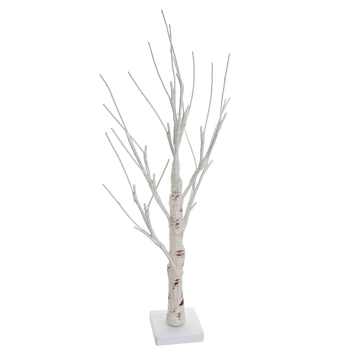 60cm Battery Power Silver Birch Led Tree Lamp Warm White