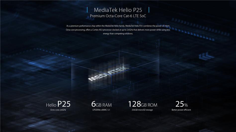 UMIDIGI S2 PRO 6.0 Inch Face ID 5100mAh 6GB RAM 128GB ROM MTK Helio P25 2.6GHz 4G Smartphone
