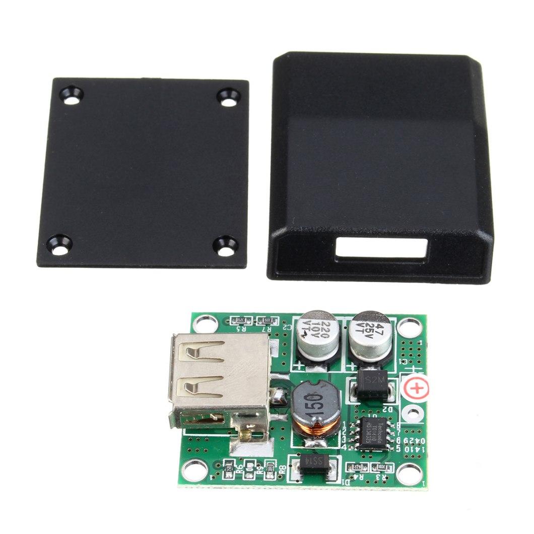 5pcs DIY 5V 2A Voltage Regulator Junction Box Solar Panel Charger Special Kit For Electronic Production 8