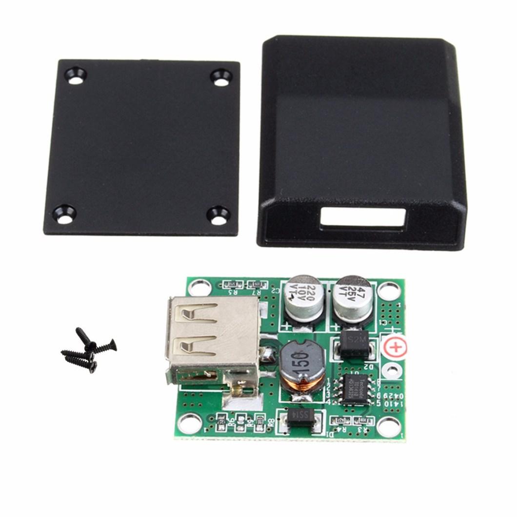 5pcs DIY 5V 2A Voltage Regulator Junction Box Solar Panel Charger Special Kit For Electronic Production 7