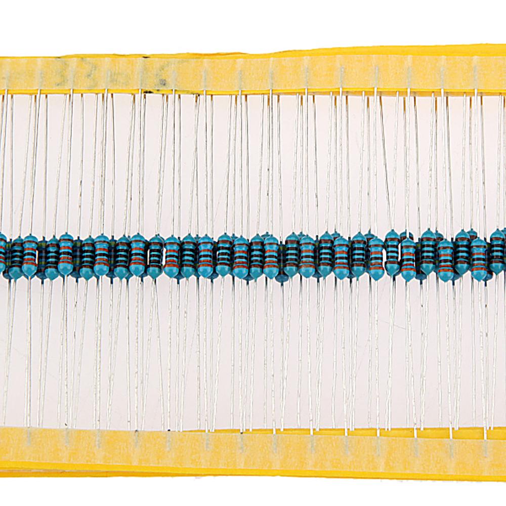 8000pcs Metal Film Resistor Assortment Kit Set 20 Kinds Value 32