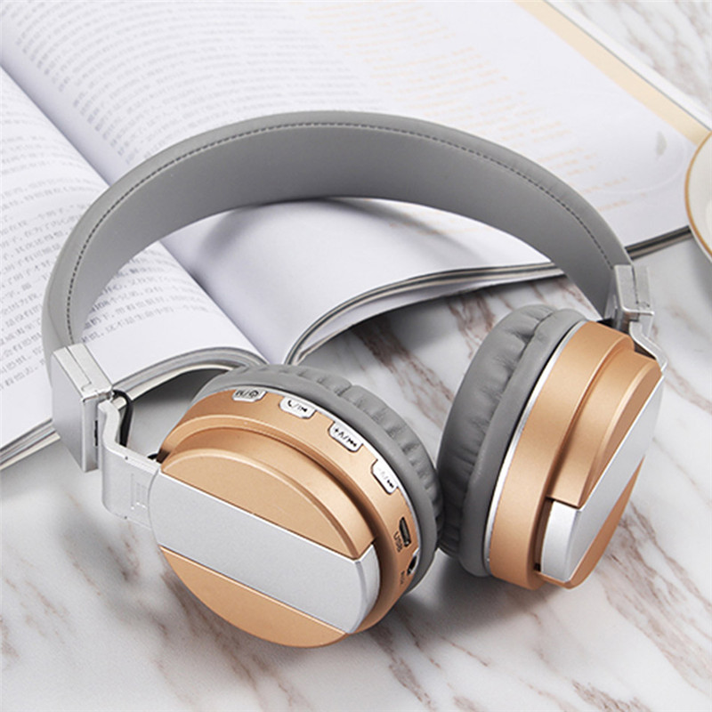 FE-018 Portable Foldable FM Radio 3.5mm NFC Bluetooth Headphone Headset with Mic for Mobile Phone 14