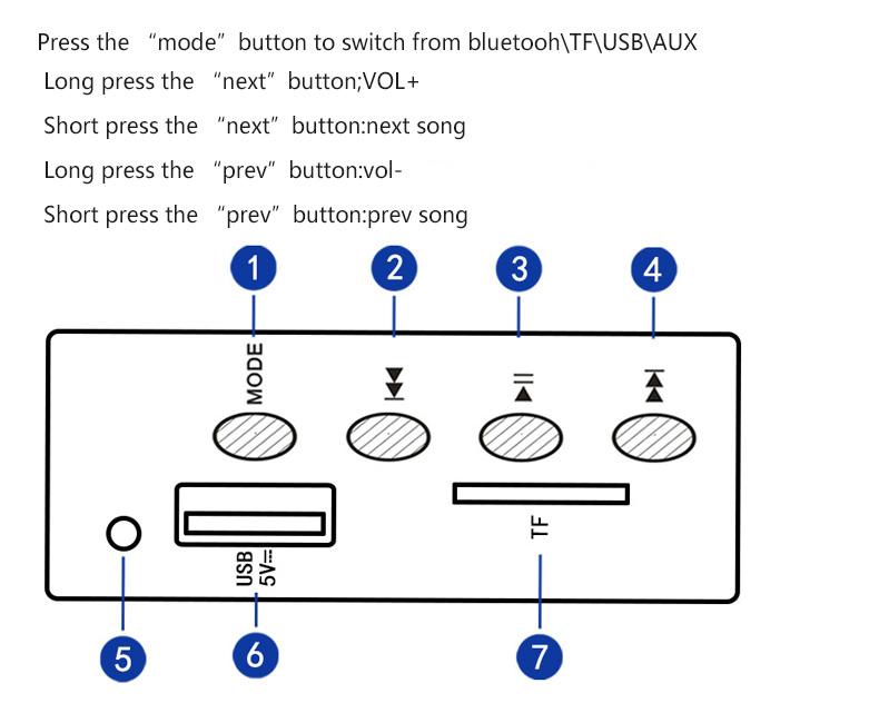 SADA Q2 Bluetooth 2.1 Channel Stereo Bass Computer Speaker