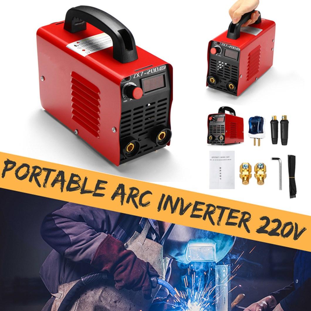 ZX7-200 220V Handheld Mini MMA Electric Welding Tool Digital 20-200A Inverter ARC Welding Machine 35