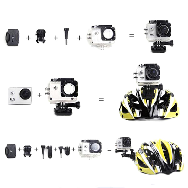 A Set of Repalcement Waterproof Case Holder for SJ4000
