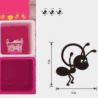 Honana Ants Moving Decorative Wall Art Stickers Black ...