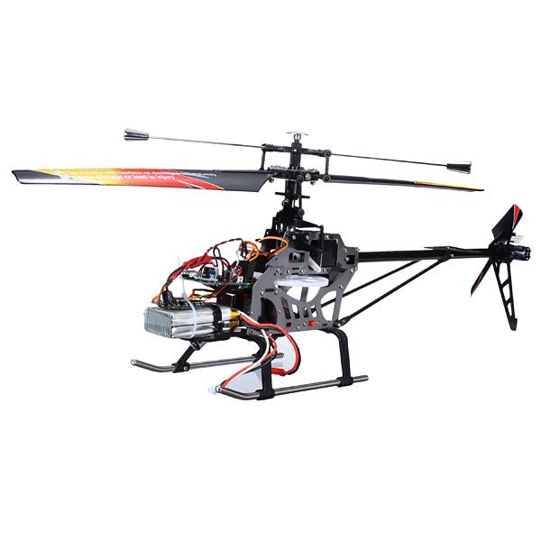 Wltoys brushless v913 versão 2.4G 4ch rc helicóptero rtf