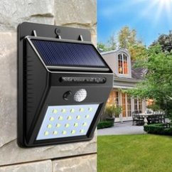 Wiring Diagram For Wall Lights 6w White Light Double Cob Led Switch Night 1997 Mercury Grand Marquis Fuse Box Solar Shop Best Outdoor With Low Price Power 20 Pir Motion Sensor Waterproof Path Yard Garden Security Lamp