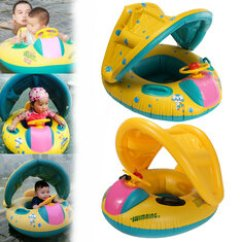 Baby Blow Up Ring Chair Bedroom Cream Swimming Float Buy Cheap From Banggood Adjustable Sunshade Swim Inflatable Seat Boat