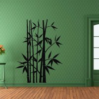 Removable Bamboo Wall Stickers Home Decor Art Decoration ...