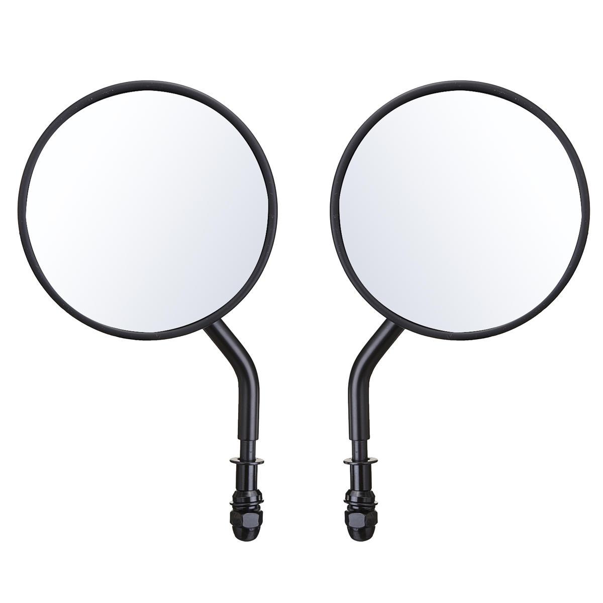 diameter 105mm retro round rearview motorcycle mirrors