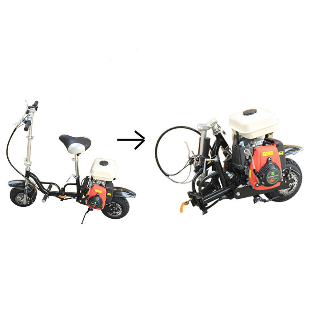 New 49cc Single Cylinder Air Cooled Foldable Portable Fuel