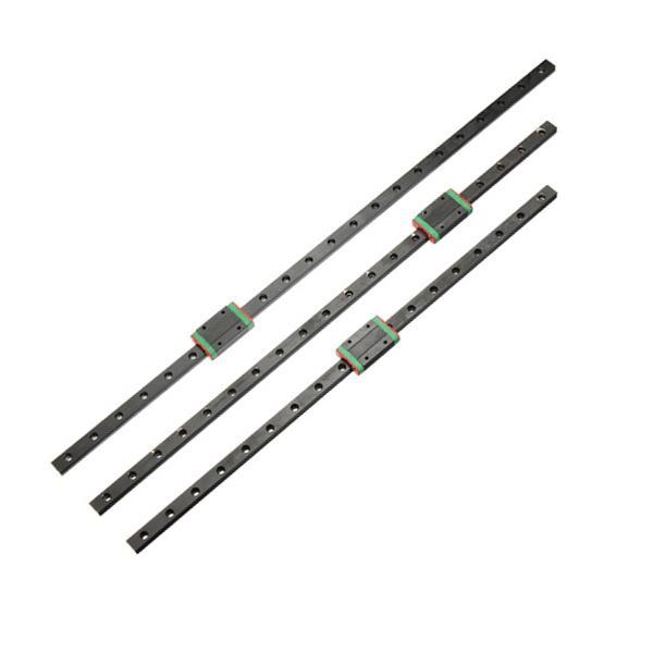 สีดำ 450mm / 500mm / 550mm mgn12 คู่มือเชิงเส้นรางสไลด์แบบ