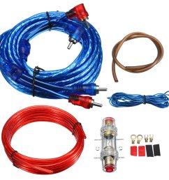 1500w car amplifier wiring kit audio subwoofer amp rca power cable jl audio amp wiring kit [ 1200 x 1200 Pixel ]