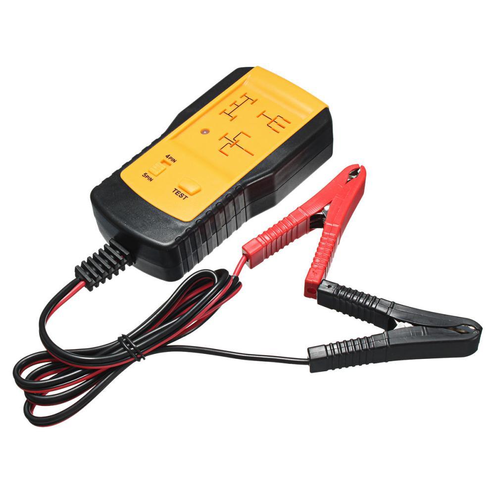 medium resolution of automotive relay tester detector 12v for universal cars auto battery checker