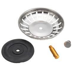 Kitchen Sink Strainers Modern Table 304 Stainless Steel Strainer Stopper Waste Plug Filter Bathroom Basin Drain