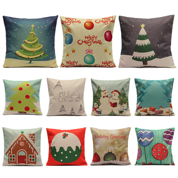 sofa box cushion covers cheap corner sofas nottingham christmas candy series pillow cases home square cover other warehouse send me purchase update on messenger