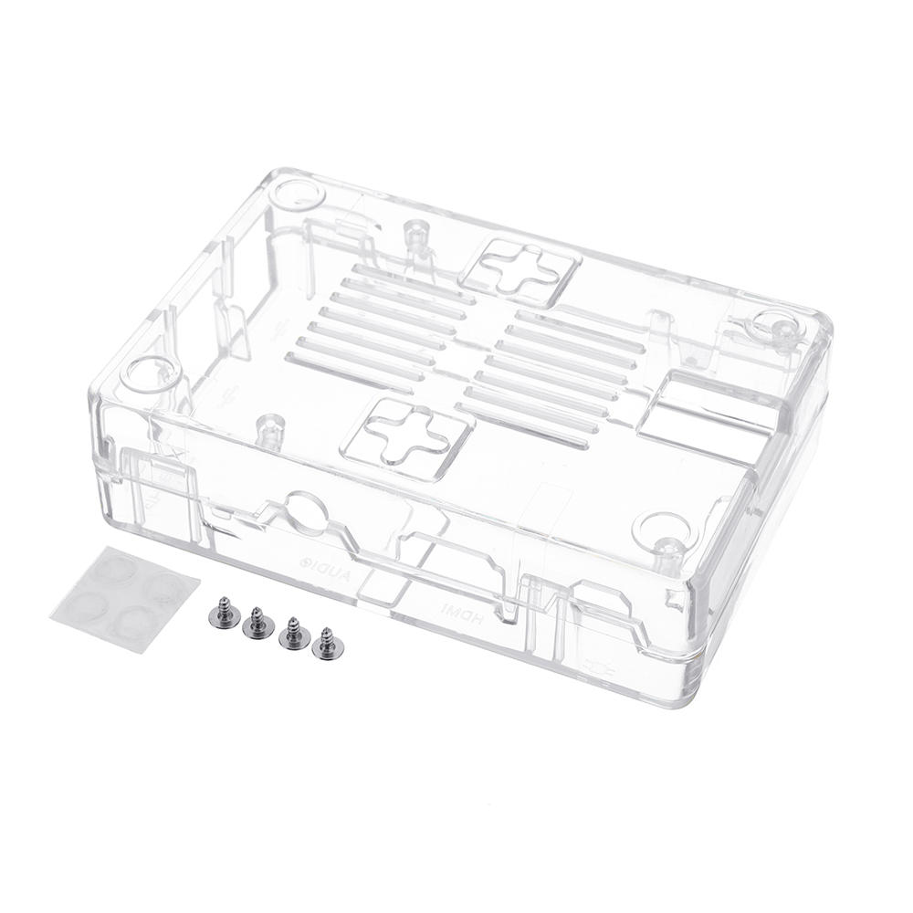 enclosure protective transparent assembly case for