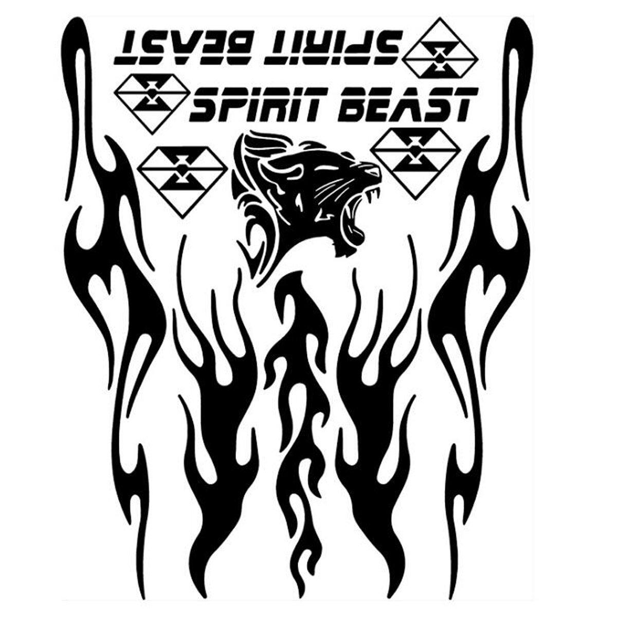 Benryhome Spirit Beast Reflective Motorcycle
