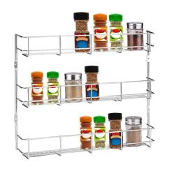 Kitchen Spice Rack Tile Designs 3 Tiers Cabinet Wall Mount Storage Shelf Pantry Customer Also Viewed