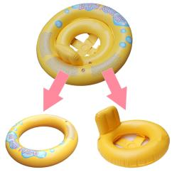 Baby Blow Up Ring Chair 18 Inch Doll Table And Chairs Inflatable Infant Kids Seat Aid Swimming Water