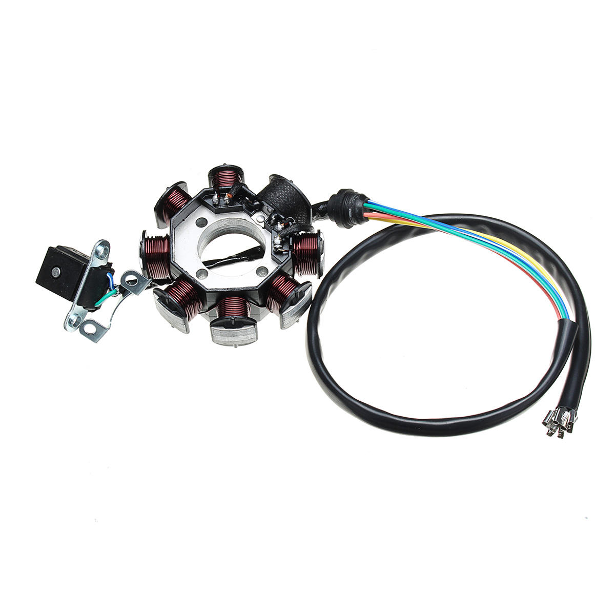 Electric Wiring Harness Wire Loom Cdi Motor Stator Full Set For Atv Quad 150 200 250cc Sale