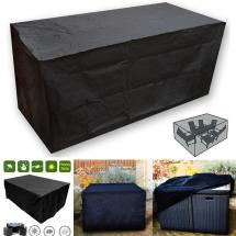 Oxbridgeblack Waterproof Rattan Cube Outdoor Garden Patio