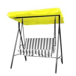 Swing Chair Canopy Replacement Rv Furniture Captains Chairs Outdoor 3 Seater Garden