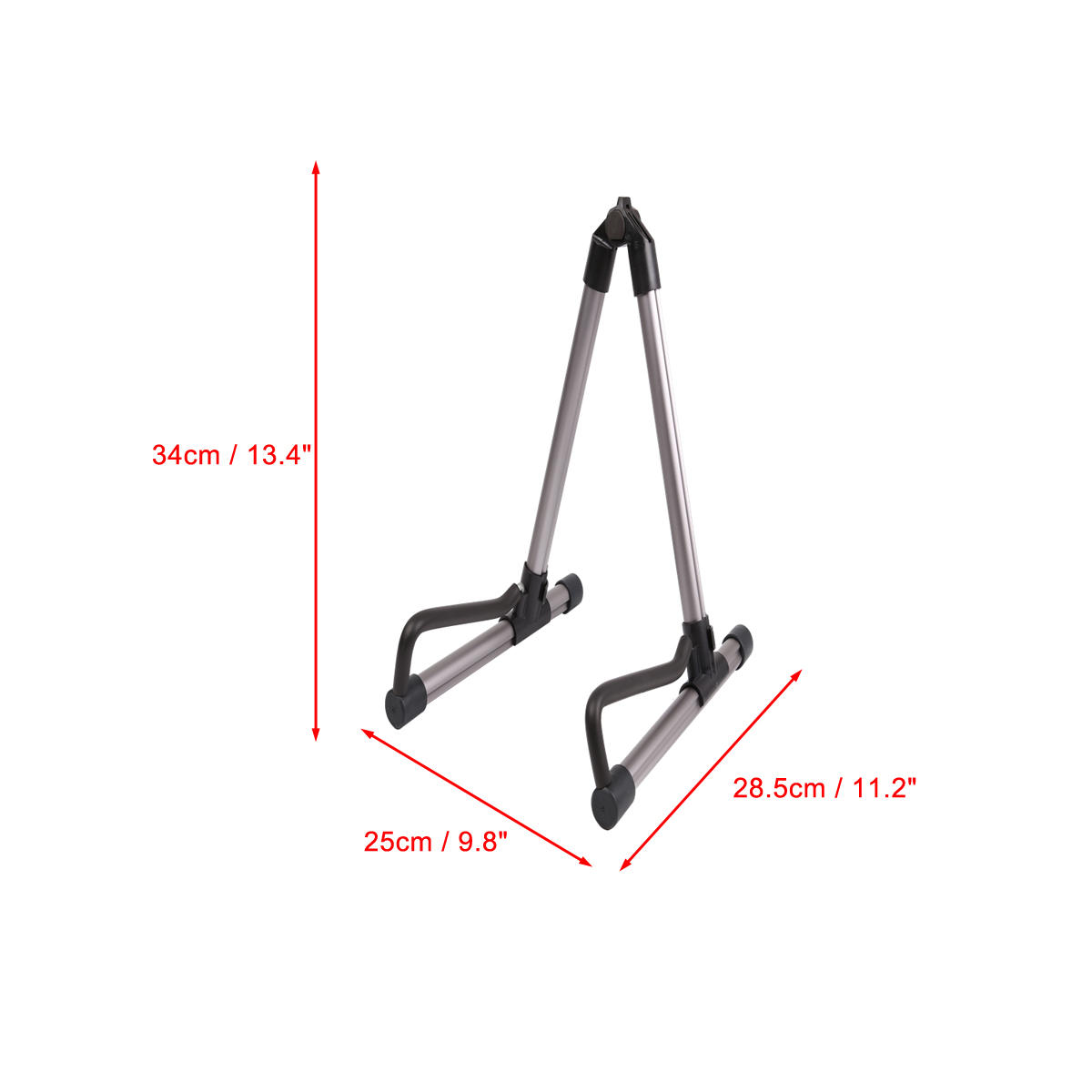 A Shape Folding Electric Acoustic Bass Guitar Frame Floor Stand Holder Sale