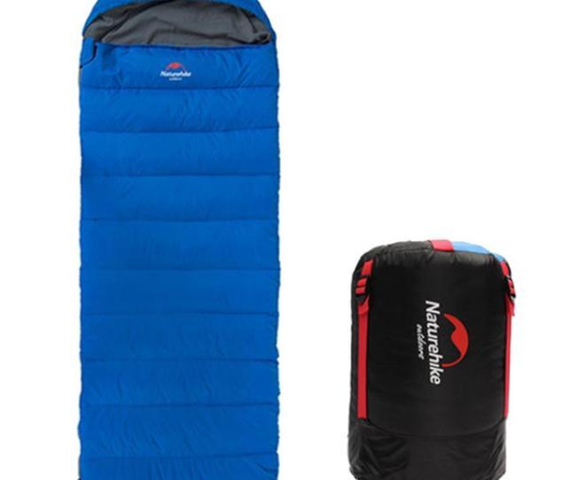 Naturehike Envelope Down Sleeping Bag Eiderdown Camping Sleeping Bag