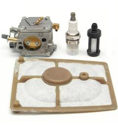 chain saw carburetor air fuel filter kit for stihl 041 041 farm boss gas carb [ 1200 x 1200 Pixel ]
