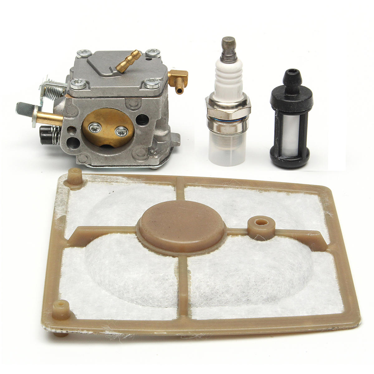 hight resolution of chain saw carburetor air fuel filter kit for stihl 041 041 farm boss gas carb