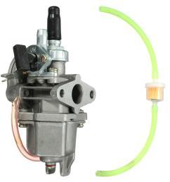 47cc 49cc carburetor carb quad atv pocket bike petrol pipe fuel filter mini moto [ 1200 x 1200 Pixel ]
